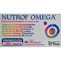 NUTROF OMEGA 36 + 12 CÁPSULAS LABORATORIOS THEA