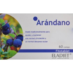 ARÁNDANO FITOTABLET 60 COMPRIMIDOS ELADIET
