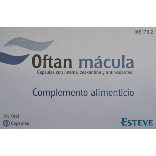 OFTAN MÁCULA 90 CÁPSULAS ESTEVE