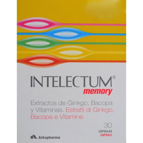INTELECTUM MEMORY 30 CÁPSULAS ARKOPHARMA