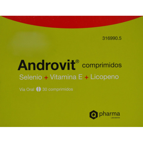 ANDROVIT 30 COMPRIMIDOS Q PHARMA