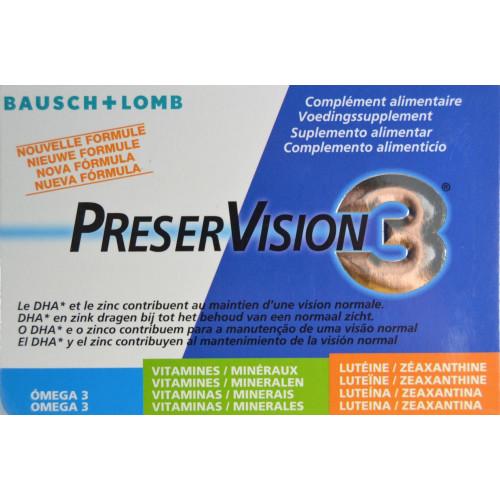PRESERVISION3 60 CÁPSULAS BAUSCH + LOMB