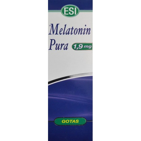 MELATONIN PURA GOTAS 1,9 MG 50 ML ESI