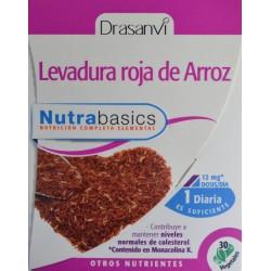 LEVADURA ROJA DE ARROZ 30 CÁPSULAS VEGETALES DRASANVI