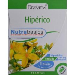 HIPÉRICO 30 CÁPSULAS VEGETALES DRASANVI