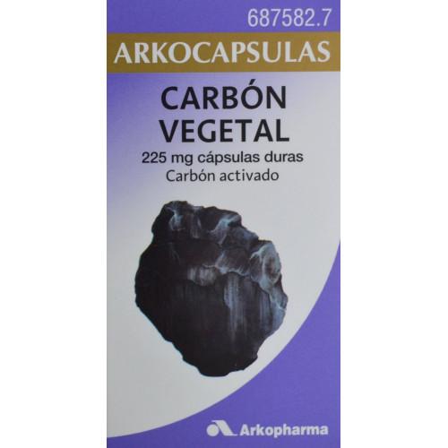CARBÓN VEGETAL ARKOCAPSULAS 50 CÁPSULAS ARKOPHARMA
