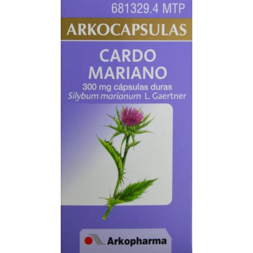 CARDO MARIANO ARKOCAPSULAS 50 CÁPSULAS ARKOPHARMA