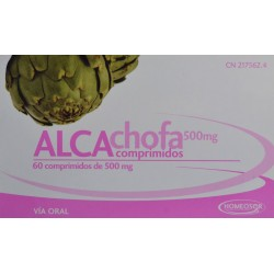 COMPRIMIDOS ALCACHOFA HOMEOSOR