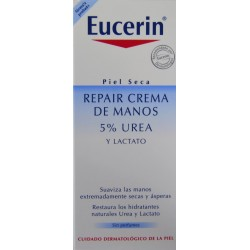 REPAIR CREMA DE MANOS 5% UREA 75 ML EUCERIN