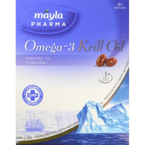 OMEGA- 3 KRILL OIL 30 CÁPSULAS MAYLA PHARMA