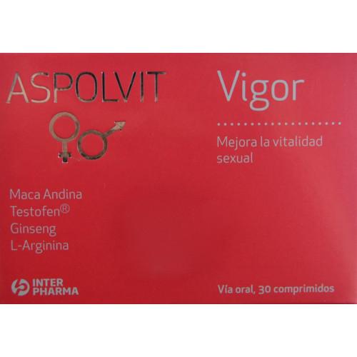 ASPOLVIT VIGOR 30 COMPRIMIDOS INTERPHARMA