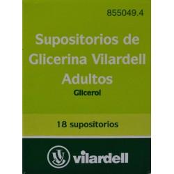 SUPOSITORIOS DE GLICERINA ADULTOS VILARDELL