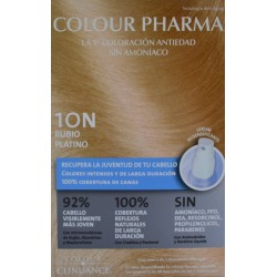 10 N RUBIO PLATINO COLORACIÓN ANTIEDAD COLOUR PHARMA