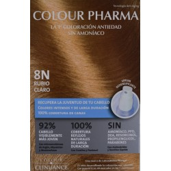 8 N RUBIO CLARO COLORACIÓN ANTIEDAD COLOUR PHARMA