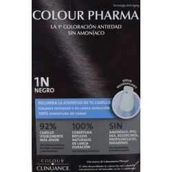 1 N NEGRO COLORACIÓN ANTIEDAD COLOUR PHARMA