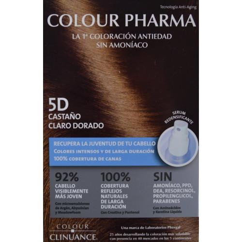 5 D CASTAÑO CLARO DORADO COLORACIÓN ANTIEDAD COLOUR PHARMA