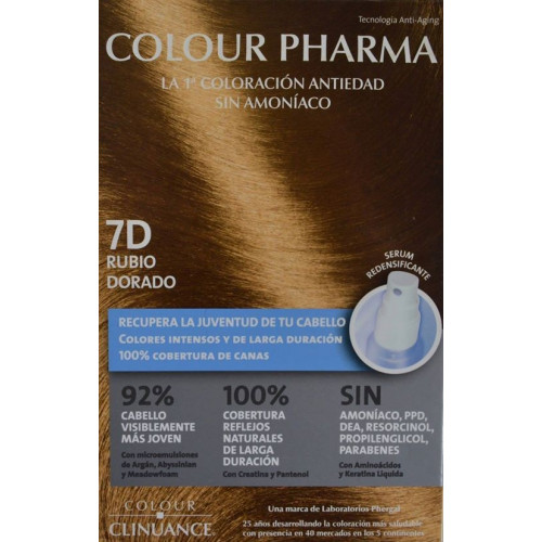 7 D RUBIO DORADO COLORACIÓN ANTIEDAD COLOUR PHARMA