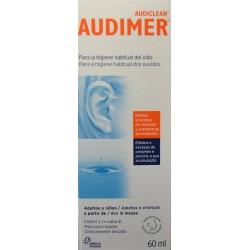 AUDIMER AUDICLEAN 60 ML LABORATORIOS OMEGA PHARMA
