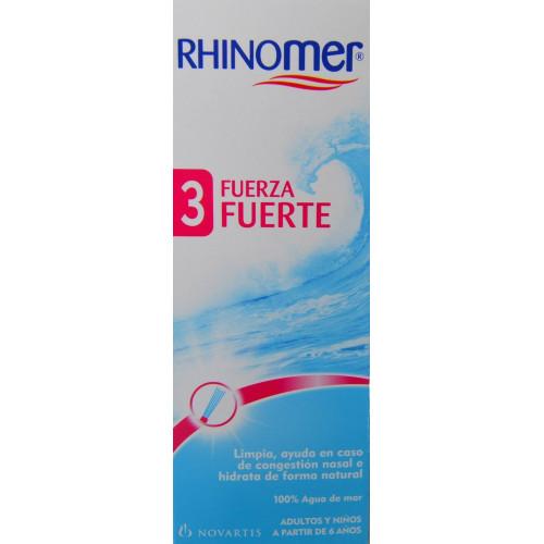 RHINOMER 3 FUERZA FUERTE 135 ML NOVARTIS
