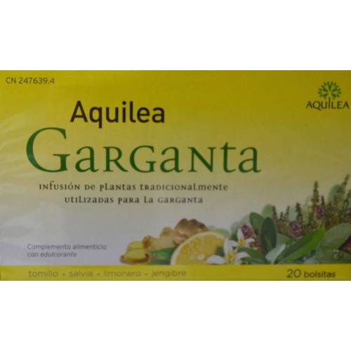 INFUSIONES GARGANTA 20 BOLSITAS AQUILEA