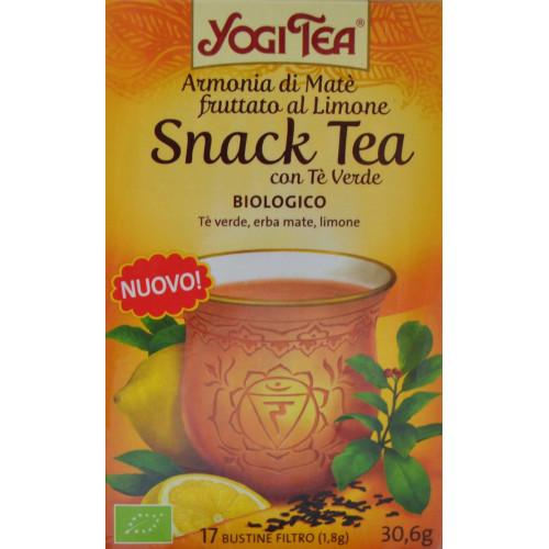 SNACK TEA BIOLÓGICO 17 BOLSITAS YOGI TEA