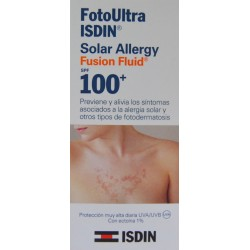 FUSION FLUID SOLAR ALLERGY FOTOULTRA SPF 100+ 50 ML ISDIN