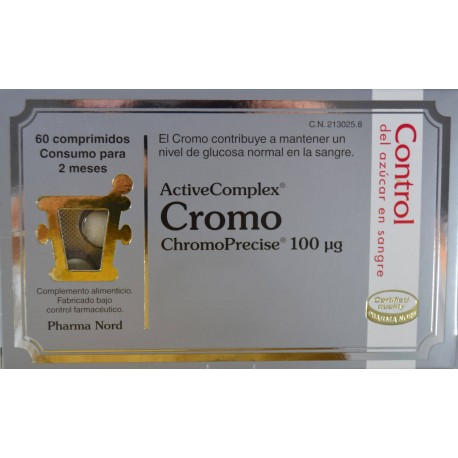 CROMO ACTIVE COMPLEX 60 COMPRIMIDOS PHARMA NORD - Farmacia