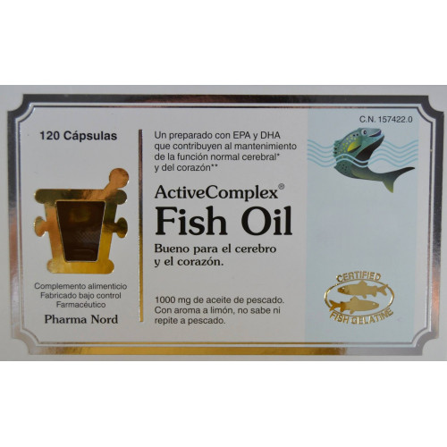 FISH OIL ACTIVE COMPLEX 120 CÁPSULAS PHARMA NORD