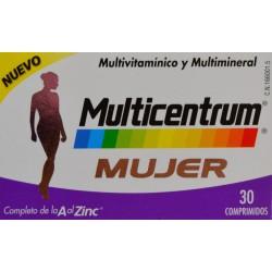 MULTICENTRUM MUJER 30 COMPRIMIDOS PFIZER