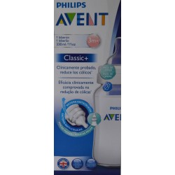 BIBERÓN CLASSIC 3M+ 330 ML AVENT PHILIPS