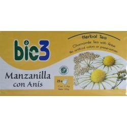 MANZANILLA CON ANÍS 25 BOLSITAS BIE 3