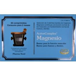 MAGNESIO 60 COMPRIMIDOS ACTIVE COMPLEX PHARMA NORD