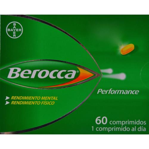 BEROCCA PERFORMANCE 60 COMPRIMIDOS BAYER