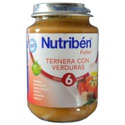 TERNERA CON VERDURAS 200 G NUTRIBÉN