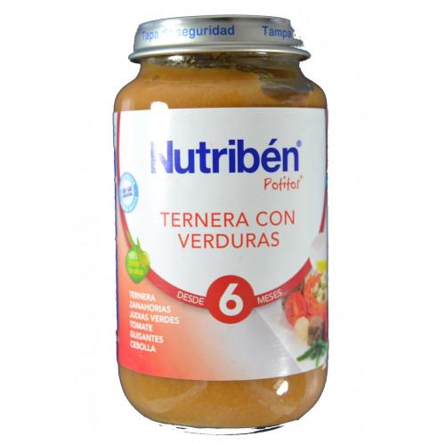 TERNERA CON VERDURAS 250 G NUTRIBÉN