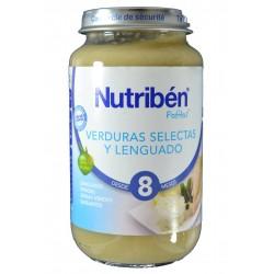 VERDURAS SELECTAS Y LENGUADO 250 G NUTRIBÉN