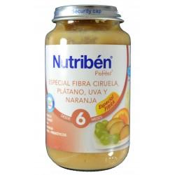 ESPECIAL FIBRA CIRUELA, PLÁTANO, UVA Y NARANJA 250 G NUTRIBÉN
