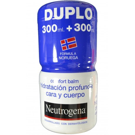CONFORT BALM PACK DUPLO 300 + 300 ML NEUTROGENA