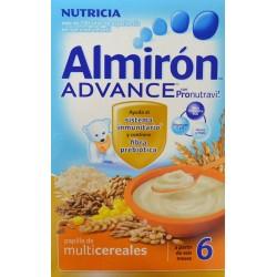 PAPILLA DE MULTICEREALES ALMIRÓN ADVANCE CON PRONUTRAVI A PARTIR DE 6 MESES NUTRICIA