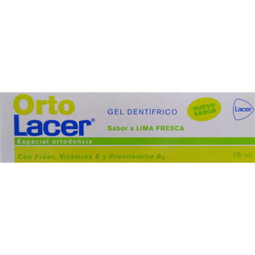 GEL DENTÍFRICO ORTO 75 ML LACER