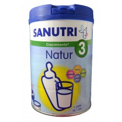 SANUTRI NATUR 3 800 G LACTALIS NUTRICIÓN IBERIA