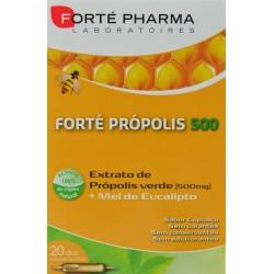 FORTÉ PRÓPOLIS 500 20 AMPOLLAS BEBIBLES FORTÉ PHARMA