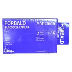 CHAMPÚ ANTICAÍDA + AMPOLLAS ANTICAÍDA PLACTOCEL CAPILAR FORBALD