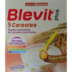 BLEVIT PLUS 5 CEREALES 2 X 300 G ORDESA