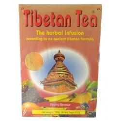 INFUSIÓN DE HIERBAS SABOR A FRUTAS 90 BOLSITAS TIBETAN TEA