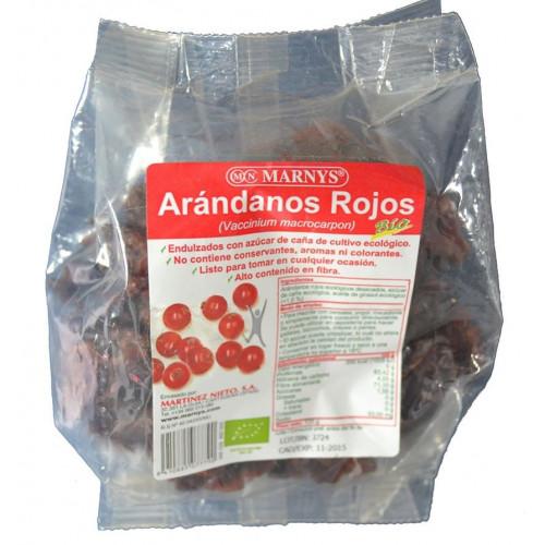 ARÁNDANOS ROJOS ECOLÓGICOS 125 G MARNYS