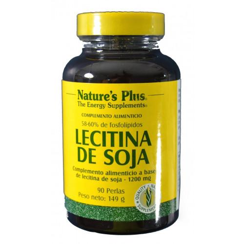 LECITINA DE SOJA 90 PERLAS NATURE'S PLUS