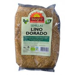 SEMILLAS LINO DORADO 500 G BIOGRÁ