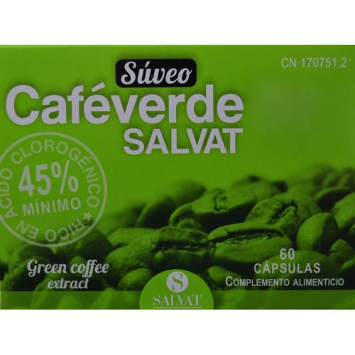 CAFÉ VERDE 60 CÁPSULAS SALVAT
