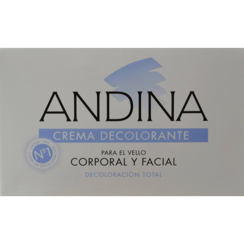 CREMA DECOLORANTE 30 ML ANDINA